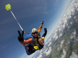 saut tandem Aair parachutisme Lessay